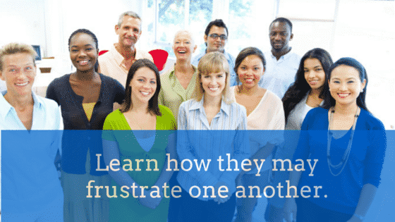 Generation Frustration – 4 generations in the workplace today