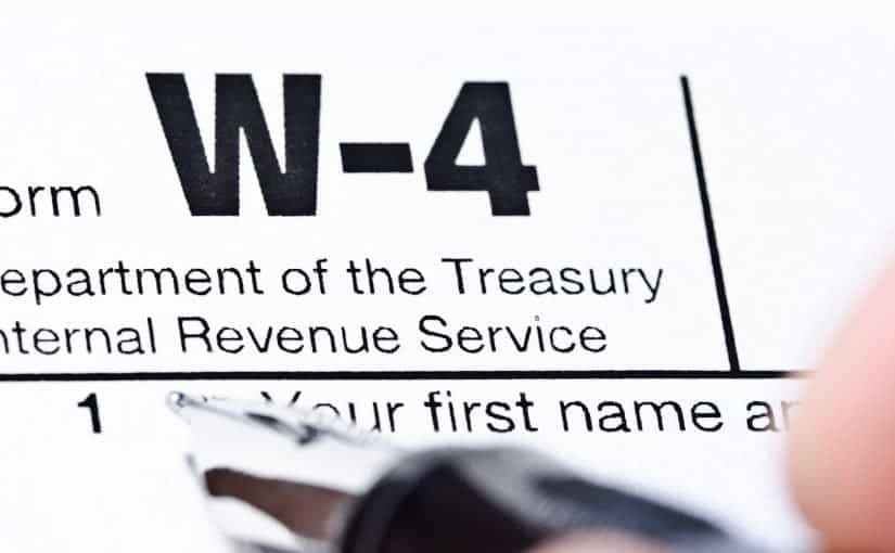 New W-4 Form and Calculator Issued By The I.R.S.